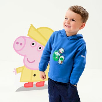 Regatta Peppa Pig Overhead Hoody - Oxford Blue