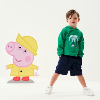 Regatta Peppa Pig Overhead Hoody - Jelly Bean
