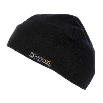 Regatta Kids Taz II Basic Beanie Hat - Black