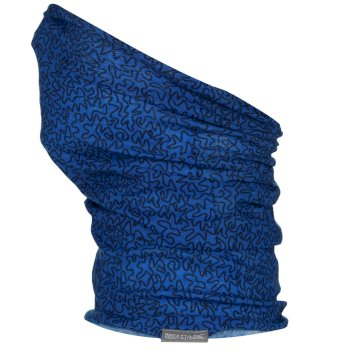 Regatta Kids Printed Multitube Scarf Mask - Imperial Blue