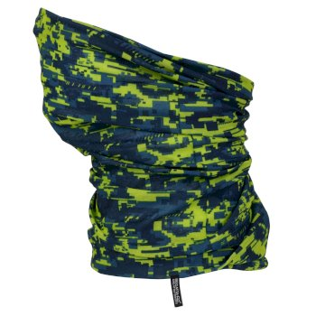 Regatta Kids Printed Multitube Sea Blue Camo