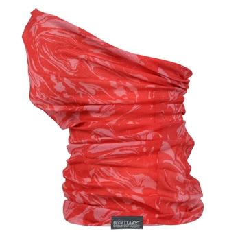 Print-Tunnelschal Gesichtsmaske für Kinder Rosa