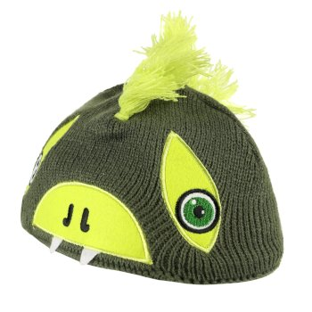 Regatta Animally II Acrylic Knit Hat Cypres Lime Punch