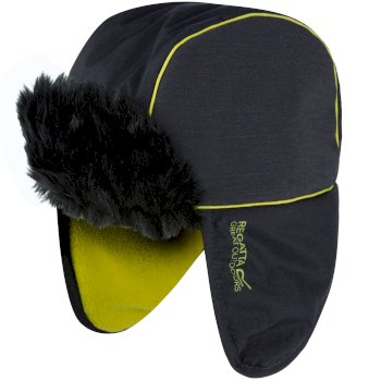Regatta Kids Wreckage Reflective Tapper Hat Iron