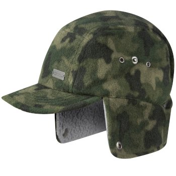 Regatta Kids Destroyer Trapper Hat Khaki Camo