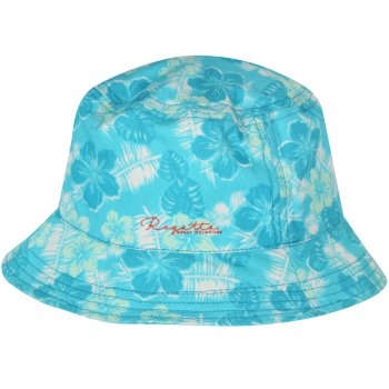 Regatta Kids Crow Cool Weave Cotton Canvas Hat Horizon
