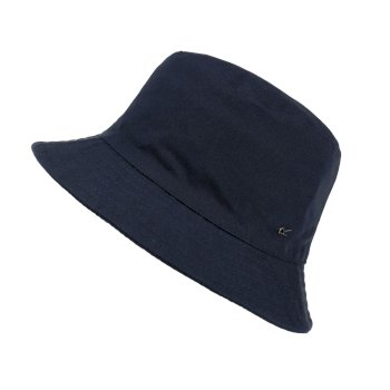 Regatta Kids' Crow Coolweave Cotton Canvas Hat - Navy