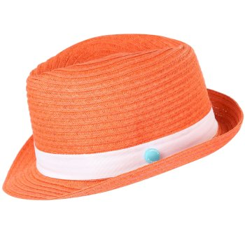Regatta Kids Takiyah Hat Neon Peach White