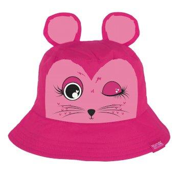 Calix Kinderhut aus Coolweave-Baumwolle Cabaret Pink Mouse