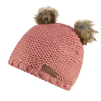 Regatta Hedy Lux Acrylic Knit Hat Dusty Rose