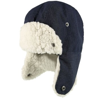 Regatta Tavis Trapper Hat Navy