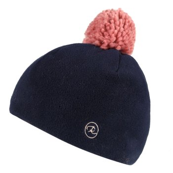 Regatta Fallon Printed Camo Fleece Hat Navy