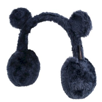 Regatta Kids' Ezora Fluffy Fleece Ear Muffs - Navy