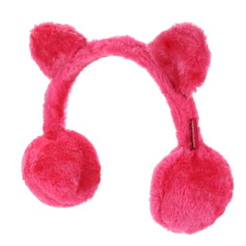 Regatta Kids' Ezora Fluffy Fleece Ear Muffs - Duchess Pink
