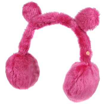 Regatta Kids' Ezora Fluffy Fleece Ear Muffs - Dusty Rose