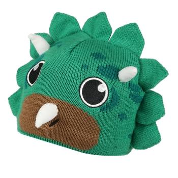 Animally III Strickbeanie für Kinder Grün