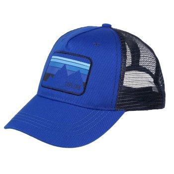 Tuyler Truckermütze für Kinder Blau