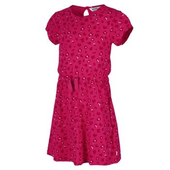 Catriona Kleid mit kurzen Ärmeln für Kinder Rosa