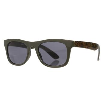 Amari adrette, runde Sonnenbrille für Kinder Grün