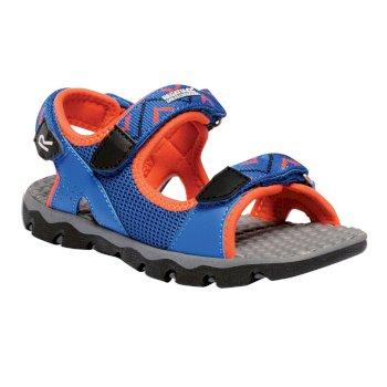 Kids Terrarock Sandals Skydiver Blue Amber
