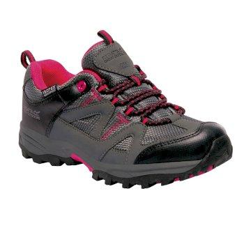 Regatta Kids Gatlin Low Walking Shoes - Granite Duchess