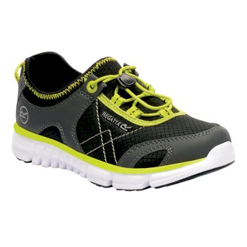 Kids' Platipus II Shoe Black Neon