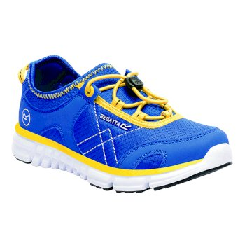 Kids' Platipus II Shoe Blue Yellow