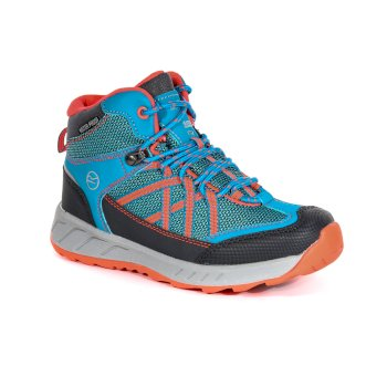 Regatta Kids' Samaris Mid Walking Boots Ceramic Fiery Coral
