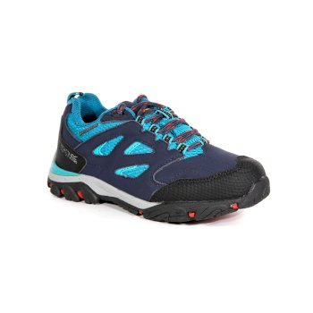 Regatta Kids' Holcombe IEP Waterproof Walking Shoes - Navy Ceramic
