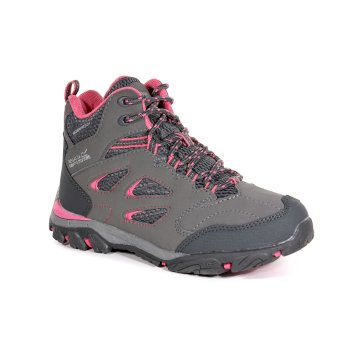 Regatta Kids' Holcombe IEP Walking Boots Steel Tulip