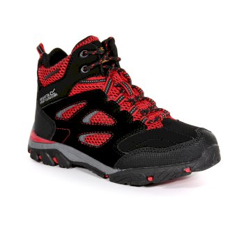 Regatta Kids' Holcombe IEP Walking Boots - Black Pepper