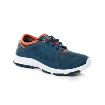 Kinder Marine Sport II Trainer Sea Blue Blaze Orange