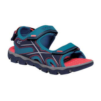 Regatta Kids' Kota Drift Sandals Enamel Fiery Coral