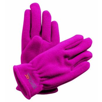 Taz II - Kinder Fleece-Handschuhe Magenta