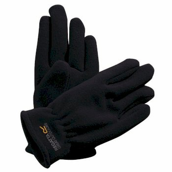 Regatta Kids Taz II Basic Fleece Gloves - Black