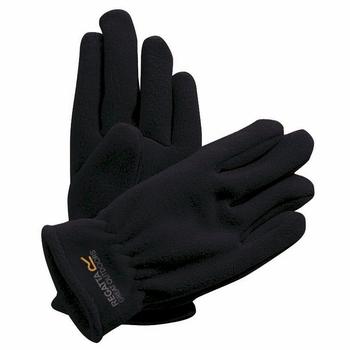 Taz II - Kinder Fleece-Handschuhe Schwarz