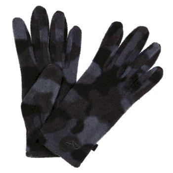 Fallon bedruckte Handschuhe für Kinder Schwarz
