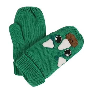 Animally III Fausthandschuhe für Kinder Grün