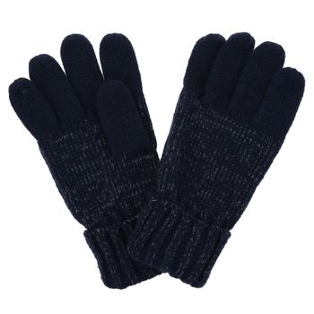 Luminosity - Kinder Handschuhe - Strick - reflektierend Navy