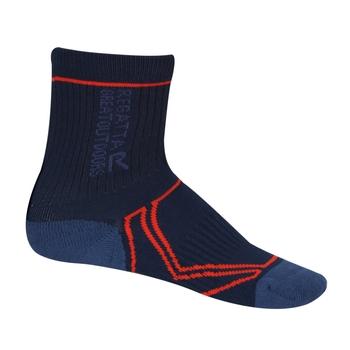 Coolmax Trek & Trail Socken für 2 Jahreszeiten für Kinder Blau