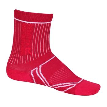 Coolmax Trek & Trail Socken für 2 Jahreszeiten für Kinder Rosa