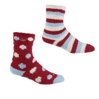 Kuschelige Socken, 2er-Pack für Kinder Rosa