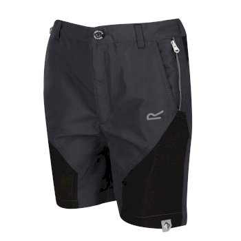 Sorcer Mountain-Shorts Für Kinder Grau