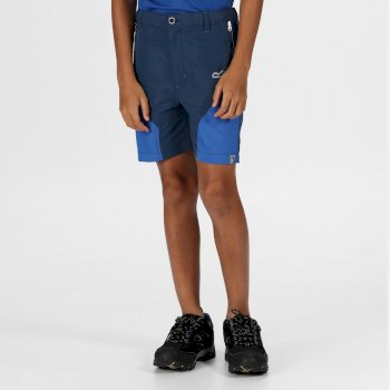 Sorcer Mountain-Shorts Für Kinder Blau