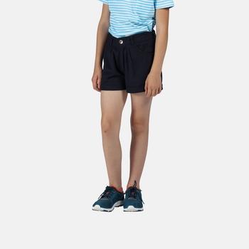 Regatta Kids' Delicia Casual Coolweave Shorts - Navy