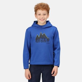 Highton Extol bedruckter Hoodie für Kinder Blau