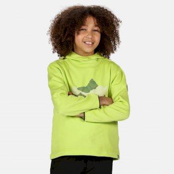 Highton Extol bedruckter Hoodie für Kinder Gelb