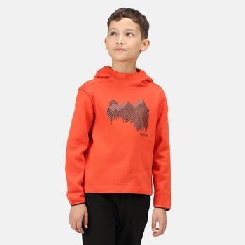 Highton Extol bedruckter Hoodie für Kinder Orange