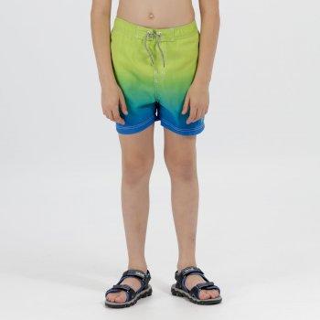 Regatta Skander Swimming Shorts Skydiver Lime Zest