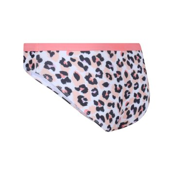 Regatta Kids' Hosanna Swimming Briefs - Fusion Coral Leopard